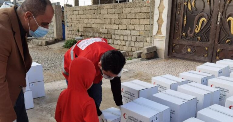 QRCS Delivers Aid in Iraq