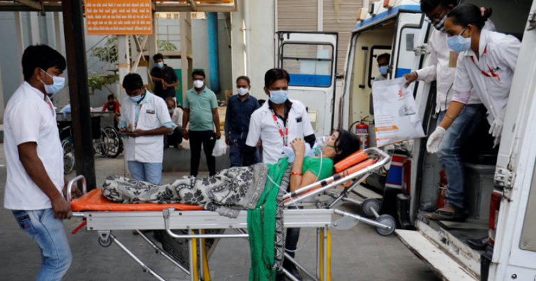 India posts world record daily COVID-19 cases for second straight day